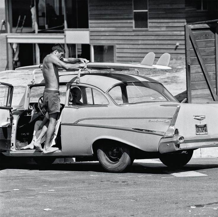 Just A Car Guy: Some classic old surf car photos