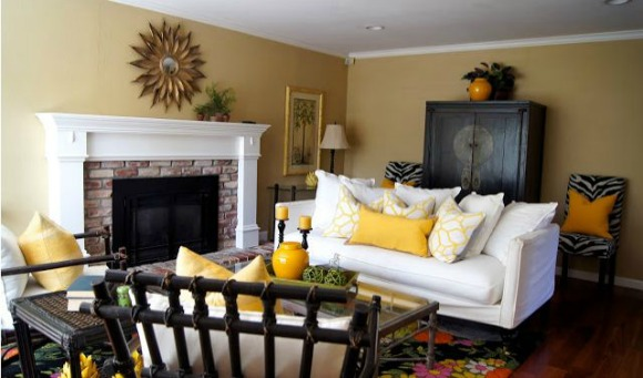 Cheery Yellow Pillows