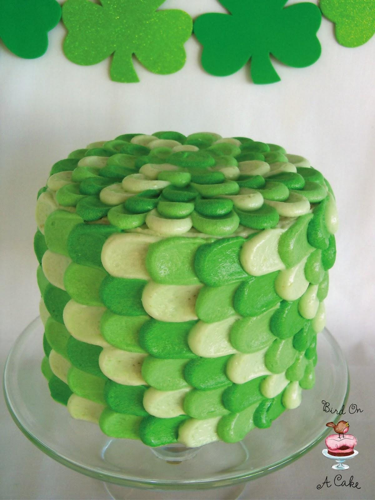 pasteles de san patricio