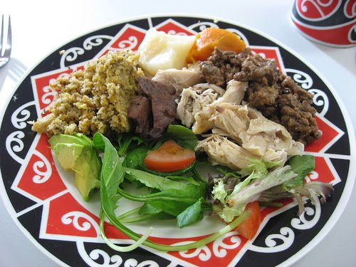New Zealand Maori Food: Shelby H Australia 2011: Green Eggs And Ham: Here Or There?