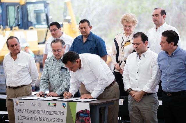 Yucatán entra a nueva etapa ferroviaria