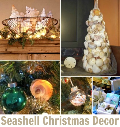 Seashell Christmas Decor