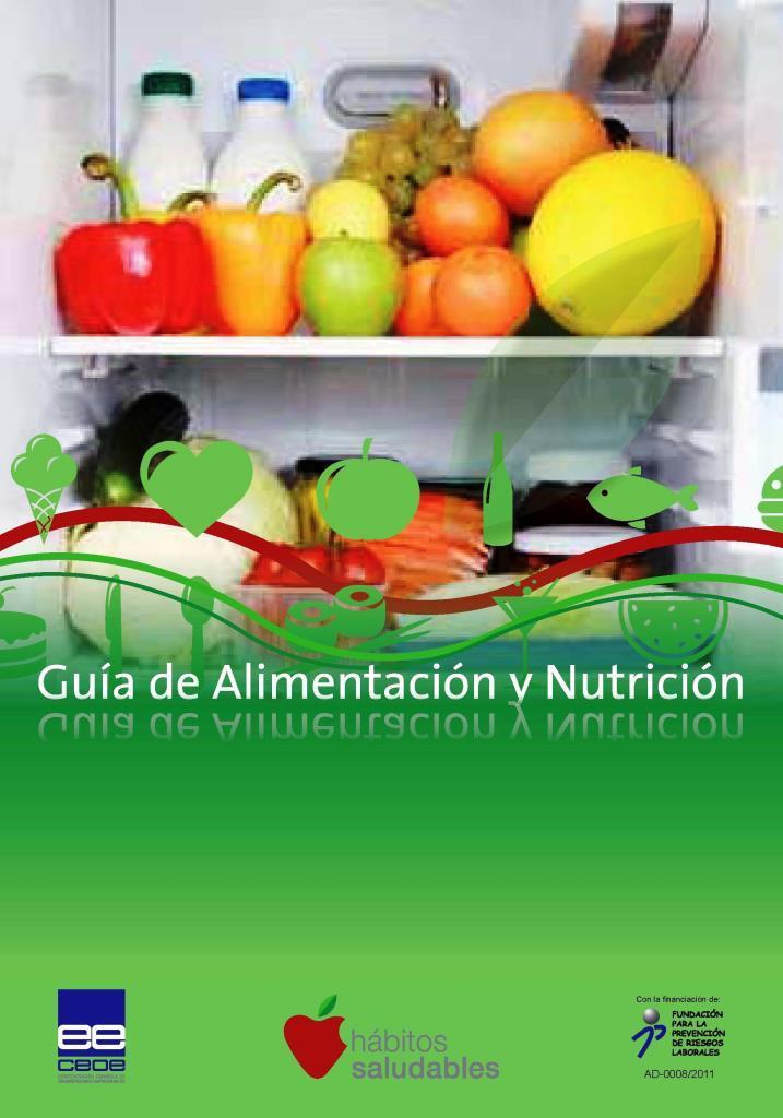 Guía de alimentación y nutrición