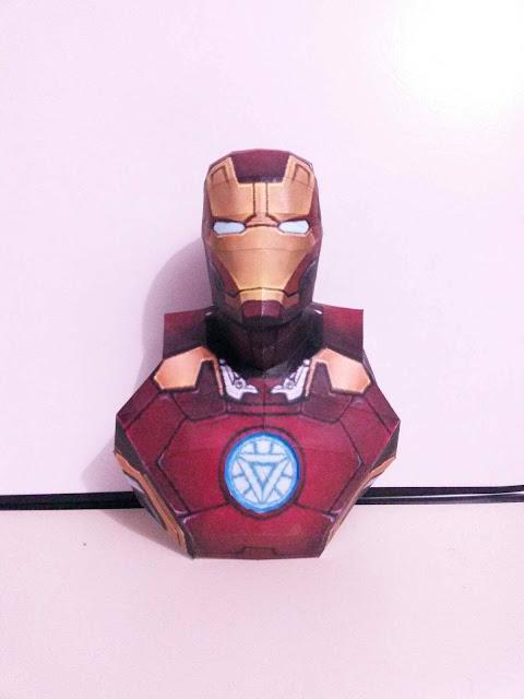 Iron Man de Parede