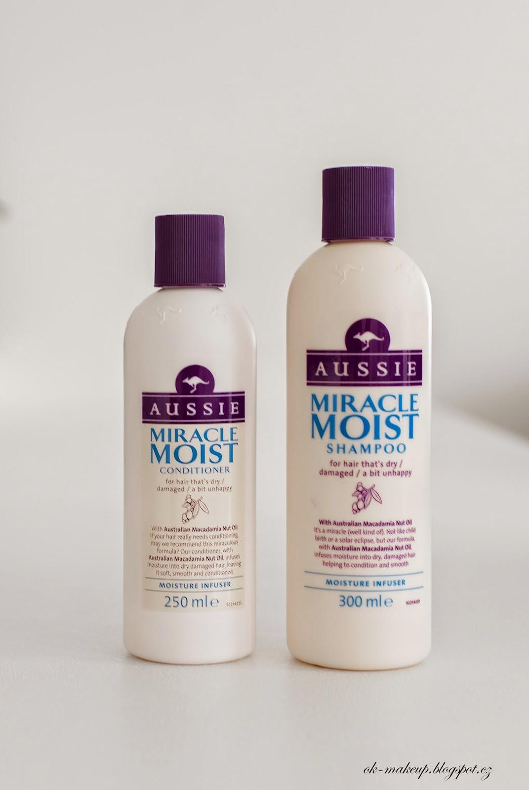 aussie, miracle moist, shampoo, conditioner, hair
