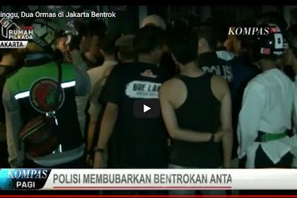Malam Minggu ini Dua Ormas di Jakarta Bentrok