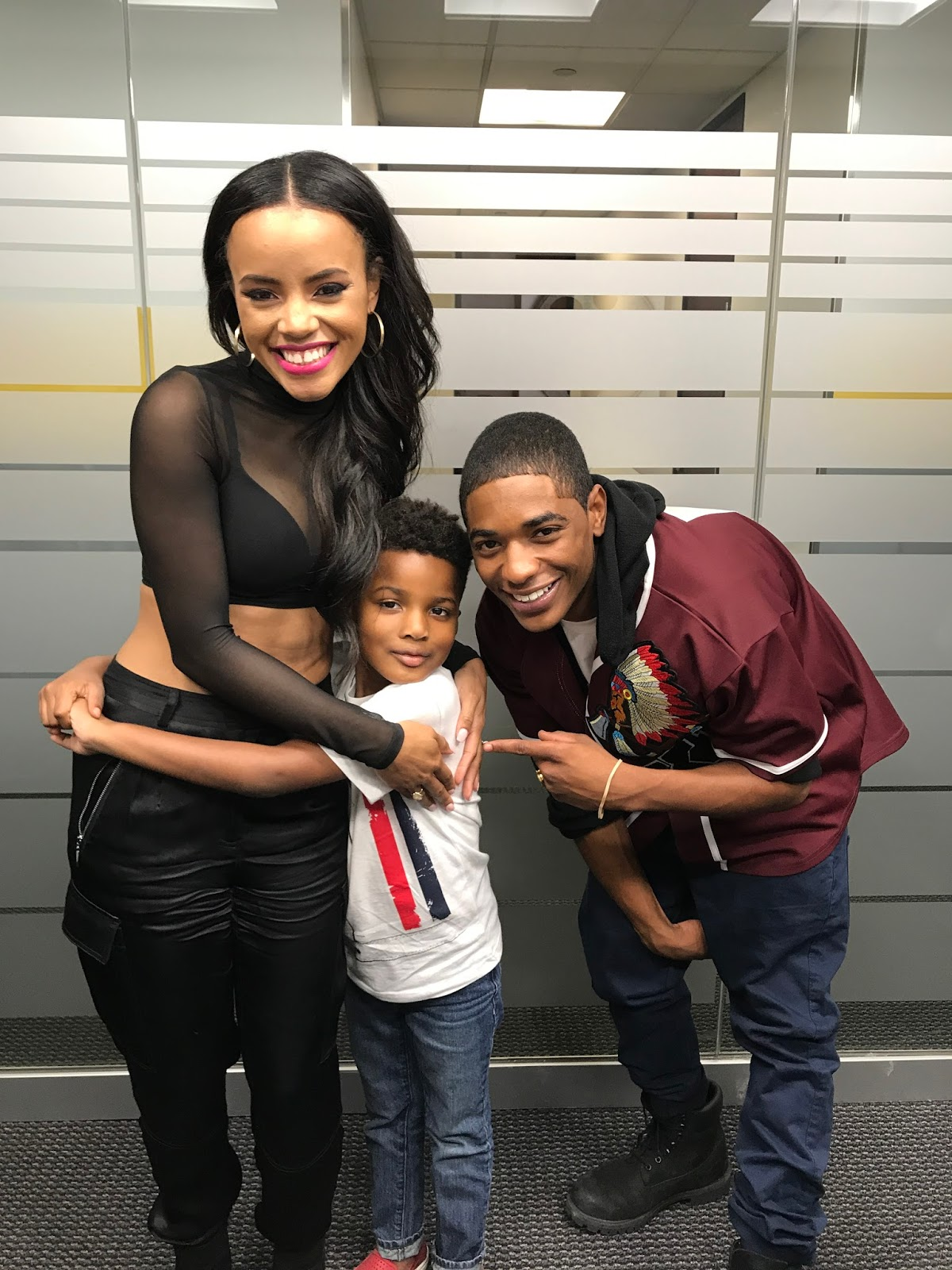 Jayden Tazz I Met The Stars Of The Bobbi Kristina Movie On