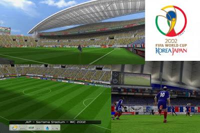 PES 6 Stadiums World Cup 2002 Korea Japan Updated 2015