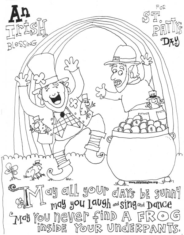 60+ St. Patrick's Day Activities and Coloring Pages