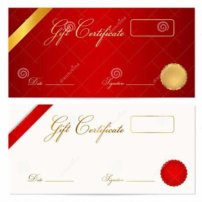 Design A Gift Certificate Template Free Njaku
