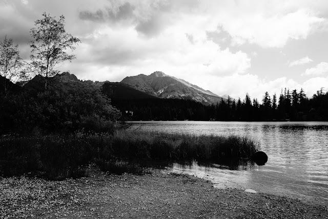 Szczyrbskie jezioro, Słowacja, Tatry. Krajobraz, fotografia. fot. Łukasz Cyrus