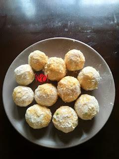 How to Make Cocoyam Balls 7