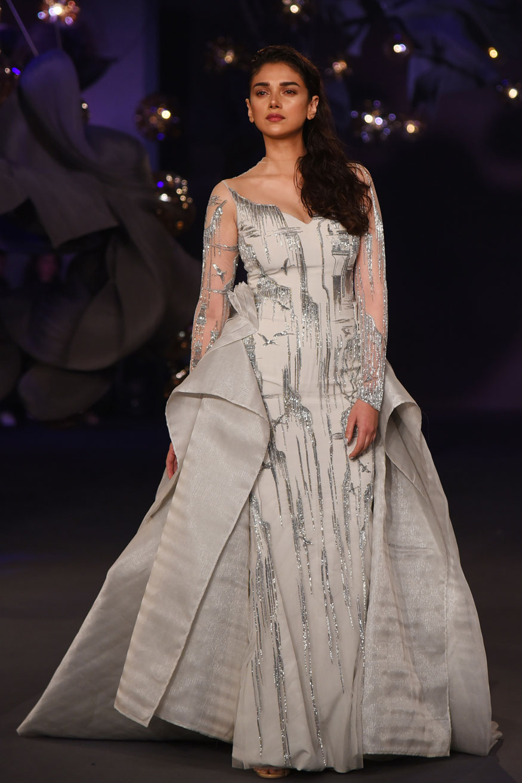 Huma Qureshi, Shilpa Shetty and Aditi Rao Hydari at India Couture Week 2017