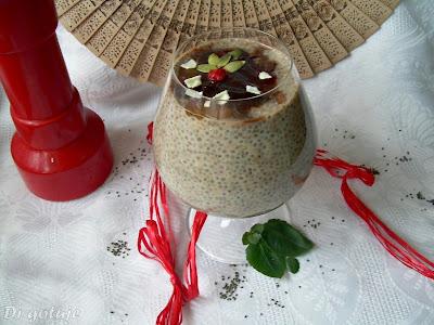 Pudding z nasion chia (z nutą czekolady)