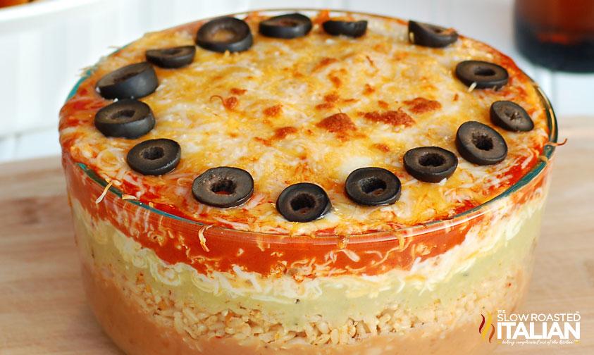 http://theslowroasteditalian-printablerecipe.blogspot.com/2011/09/7-layer-mexican-bean-dip.html