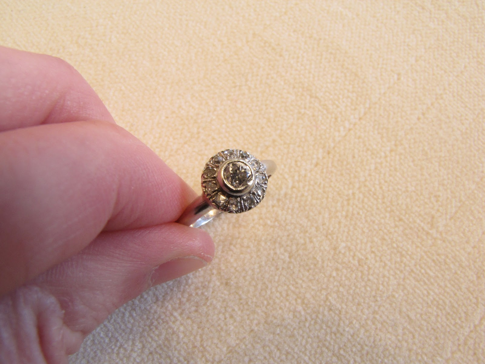 02 low profile wedding ring As with all of the rings we prize this has a nice modern low profile These also just seem to universally look good on all fingers Beautiful