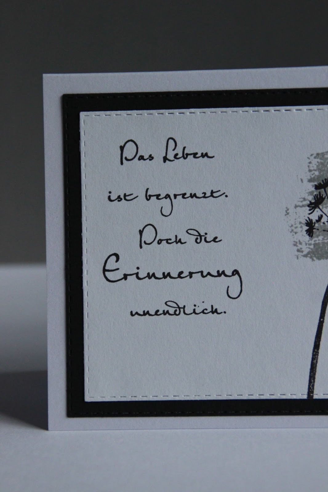 Beileidswunsche Fur Karten: Ohne Kreativität, Ohne Mich: Trauerkarte