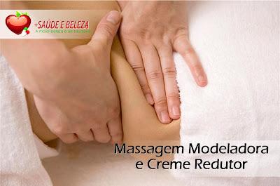 massagem modeladora ajuda na redução de peso