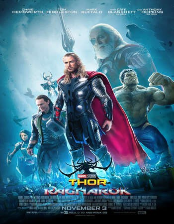 Thor Ragnarok 2017 English 720p 1GB ESubs