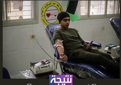 بالصور فلسطينيون يتبرعون بالدم لضحايا مسجد الروضة #سيناء اخر اخبار #العريش اليوم