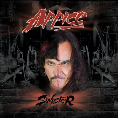 "Appice - ""Sinister"" (lyric video) from the album ""Sinister"""