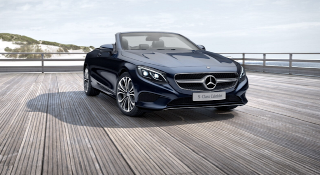 Mercedes S500 Cabriolet 2017