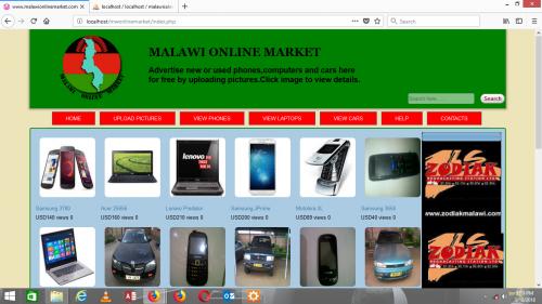 Online Market (PHP)