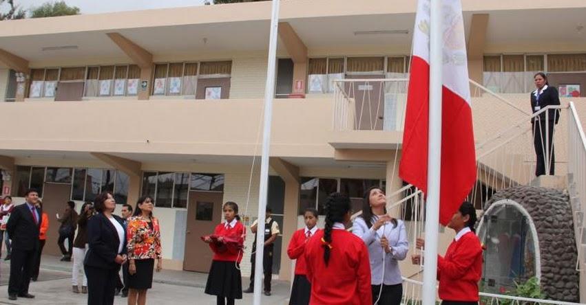 Con normalidad se da inicio al año escolar 2017 en la GRE Arequipa