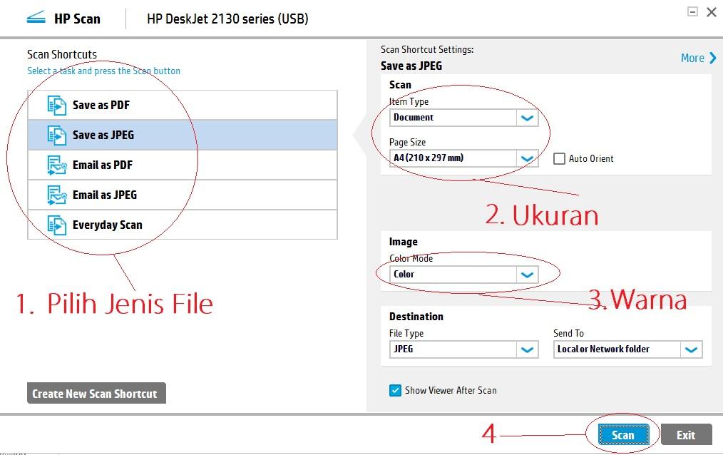 Cara Scan Di Printer Hp Deskjet 2135 Sangat Mudah Cariinfo Net