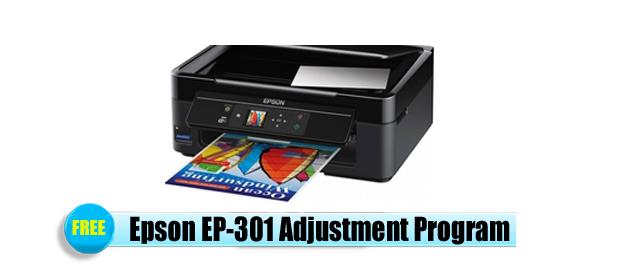 Epson EP-301 Adjustment Program