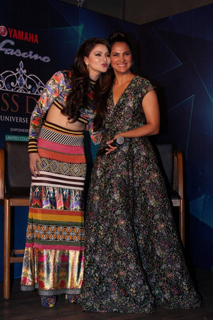 Urvashi Rautela At Yamaha Fascino Miss Diva 2017 Bloggers Meet Stills