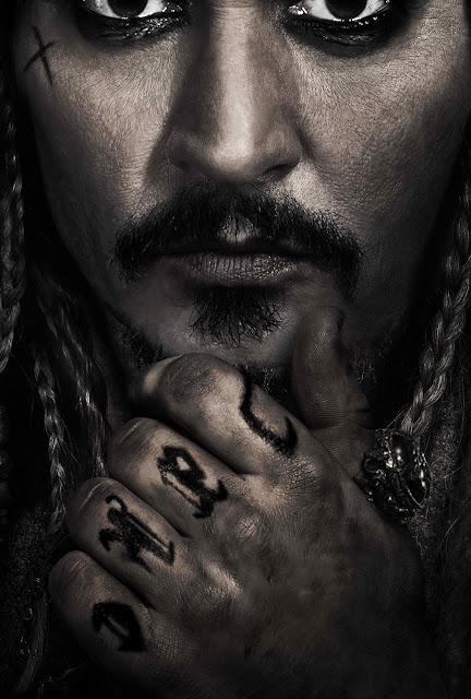 Dead Men Tell No Tales - Salazar's Revenge - Jack Sparrow Poster