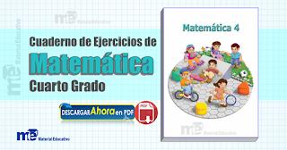 Cuaderno de ejercicios de Matemática cuarto grado primaria ...