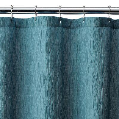 Croft Barrow Julia Geometric Shower Curtain