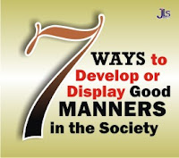 7 Ways to Develop or Display Good Manners in the Society