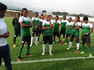 Super Falcons Too Hot To Handle For Mali
