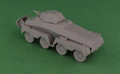 German Schwerer Panzerspähwagen Sd Kfz 231 8-Rad picture 5