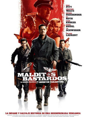 Inglourious Basterds 2009 DVD R1 NTSC Latino + CD
