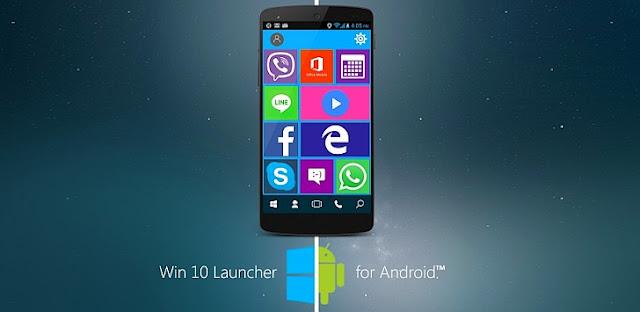 لانشر Win 10 Launcher Pro v2.2 النسخة المدفوعة للاندرويد