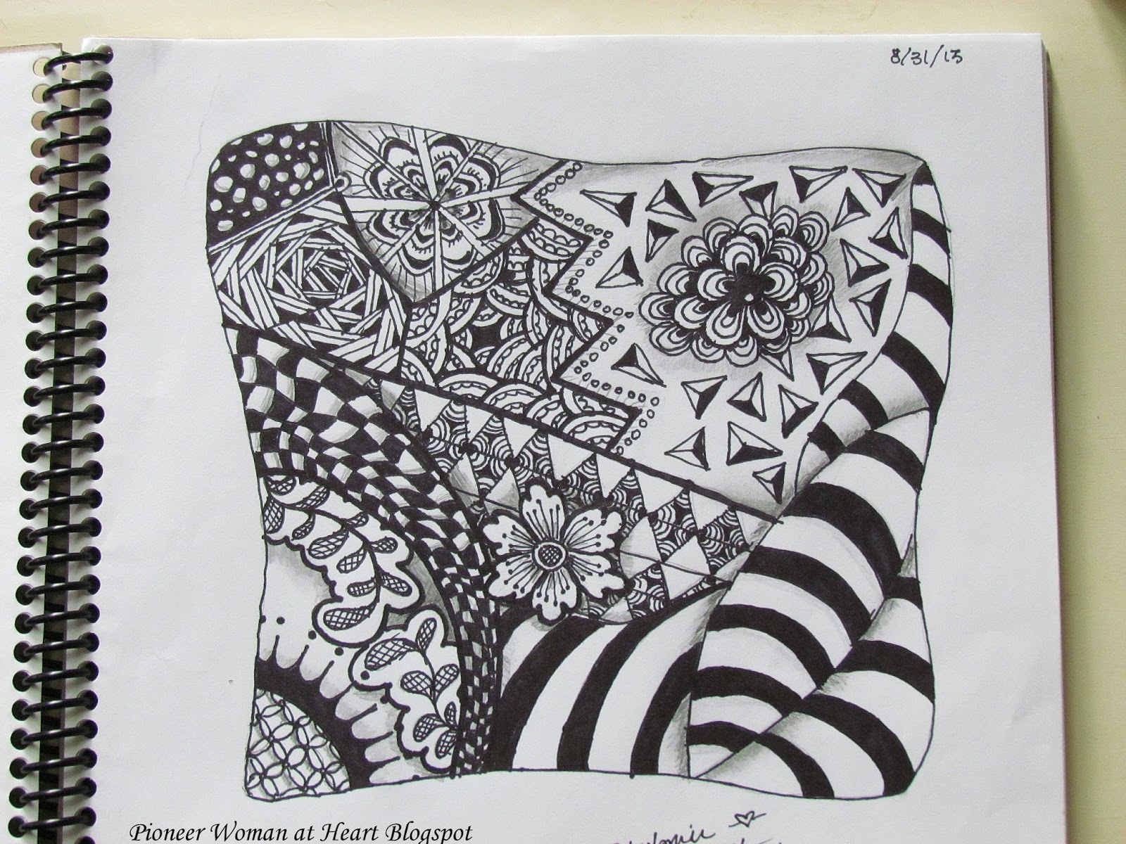 cool simple designs to draw with sharpie