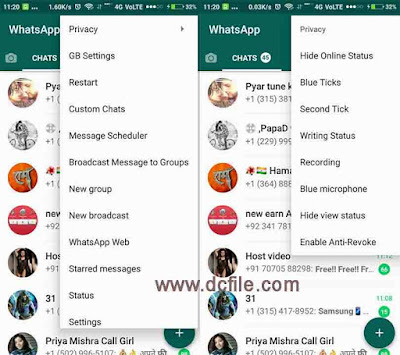 GB WhatsApp Latest Version 6.55