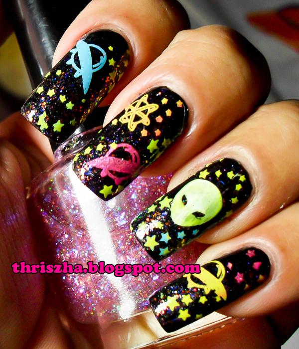 Fab Ur Nails Metallic Gradient Nail Arts