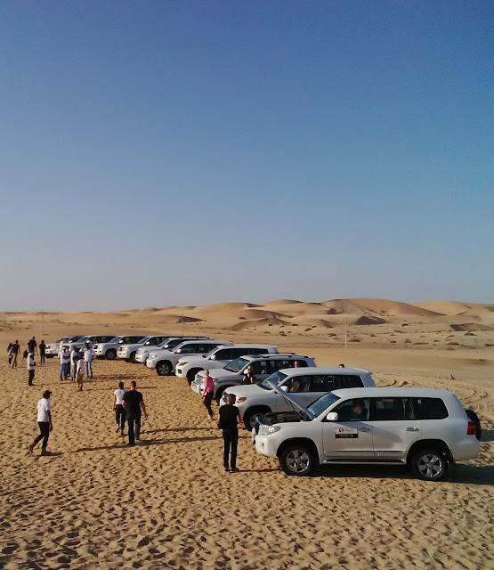 Abu Dhabi Sand Safari