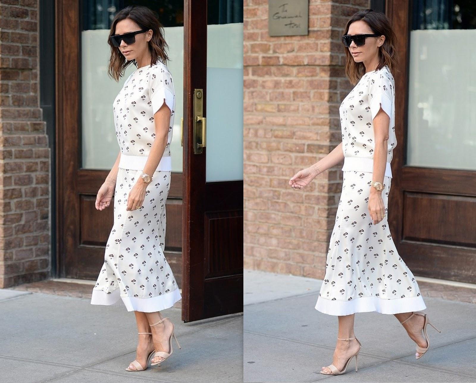 Victoria Beckham in NYC