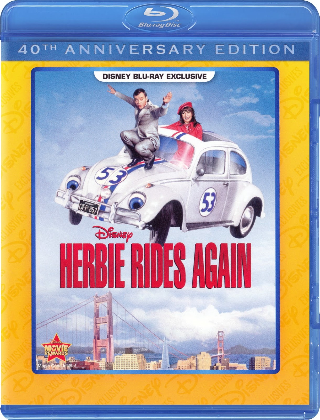 herbie rides again opening dvd - HD1221×1600