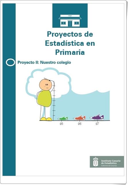 """""""Nuestro colegio""""  (Estadística en Primaria). Instituto Canario de Estadística."""