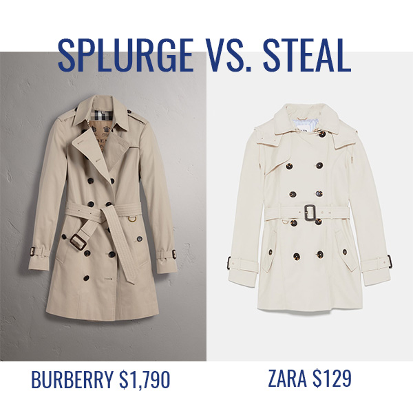 6e058f5f Loving this new stone colored trench coat at Zara as a steal for the  classic Burberry version. I have been on the hunt for this particular shade  for some ...