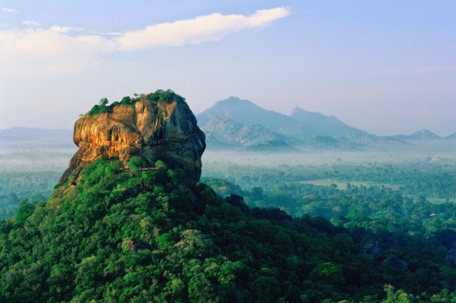 Alfies Studio Blog Post 63 - Mountains - Sigiriya