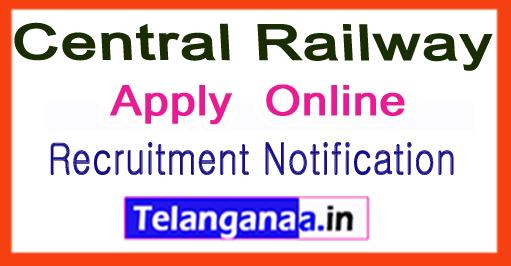 Central Railway Recruitment Notification