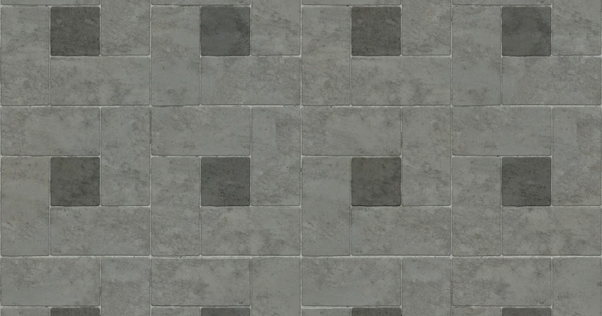 High Resolution Seamless Textures Brick Pavement Tile